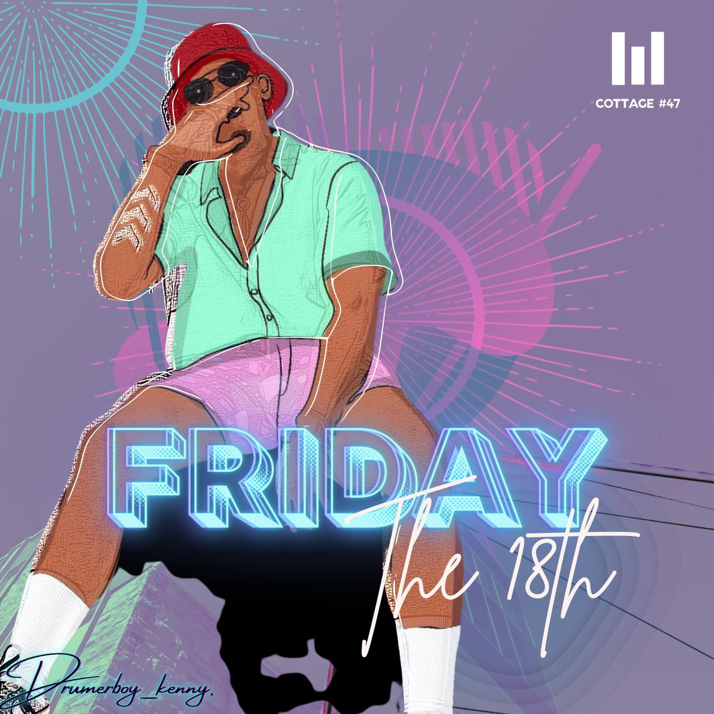 New Music: Friday the 18th EP - Drummerboy_Kenny